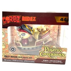 Pirate of the Caribbean orbz figure